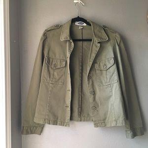 Old navy olive green Jacket